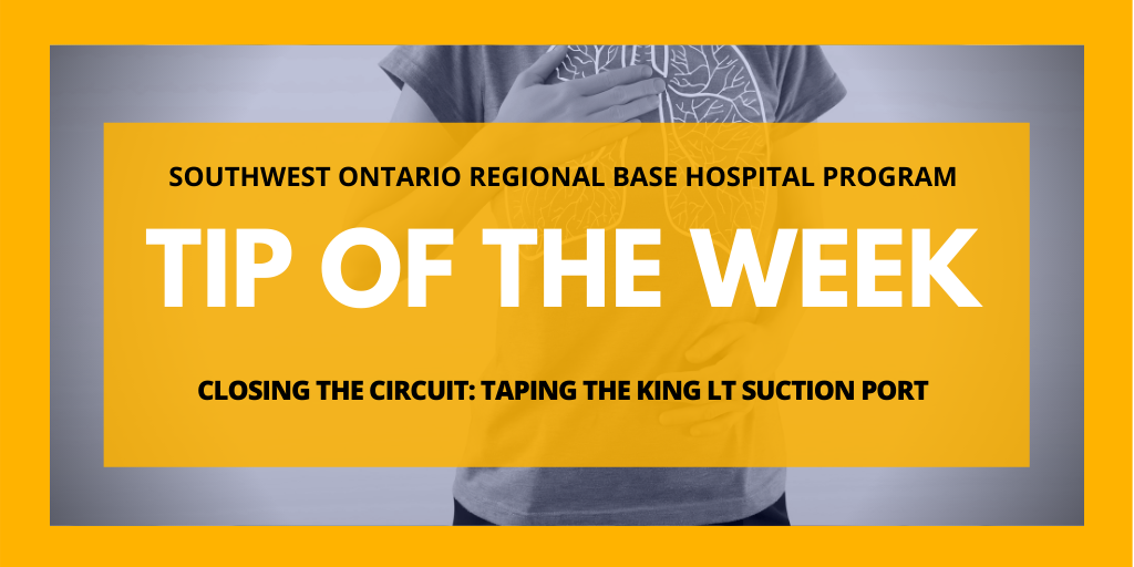 Closing the Circuit: Taping the King LT Suction Port